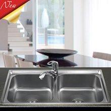Chậu rửa bát Sơn Hà 304 Premium S82