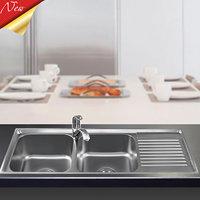 Chậu rửa bát Sơn Hà 304 Premium S105X2.3